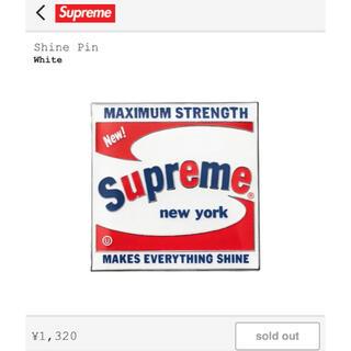 Supreme - 新品 Supreme Shine Pin ピンバッジ