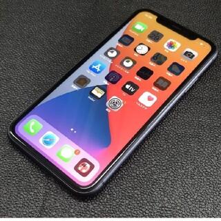 iPhone11 64GB ブラック SIMロック解除済