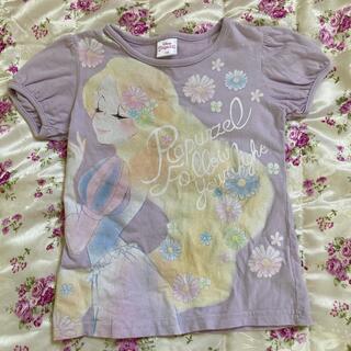 ラプンツェル(プリンセス) 女児半袖Tシャツ