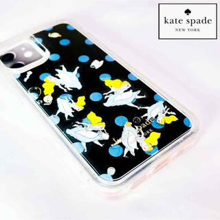 ケイトスペードニューヨーク(kate spade new york)のケイトスペード♡kate spadeアリスアイフォンケース12/12Pro対応(iPhoneケース)