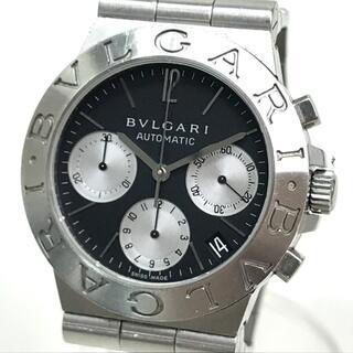 ブルガリ(BVLGARI)のブルガリ CH35S ディアゴノ スポーツ クロノグラフ メンズ腕時計 シルバー(腕時計(アナログ))