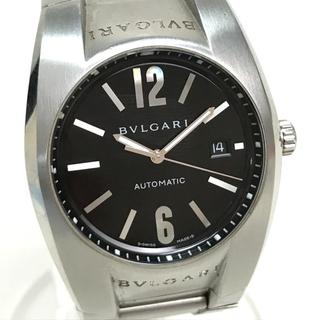 ブルガリ(BVLGARI)のブルガリ EG40S デイト エルゴン オートマティック メンズ腕時計 シルバー(腕時計(アナログ))