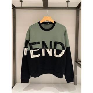 FENDI - FENDI  コットン スウェットシャツ