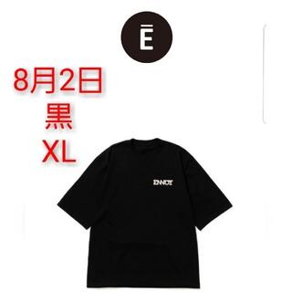 1LDK SELECT - ennoy Bubble Electric Big T-Shirts Black