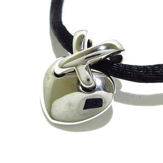 ショーメ(CHAUMET)のショーメ チョーカー リアン K18WG×シルク(ネックレス)