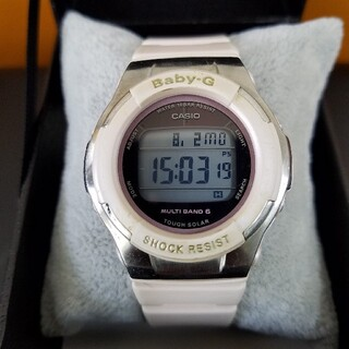 ベビージー(Baby-G)のBaby-g 電波ソーラー 金文字墨入れ(腕時計(デジタル))