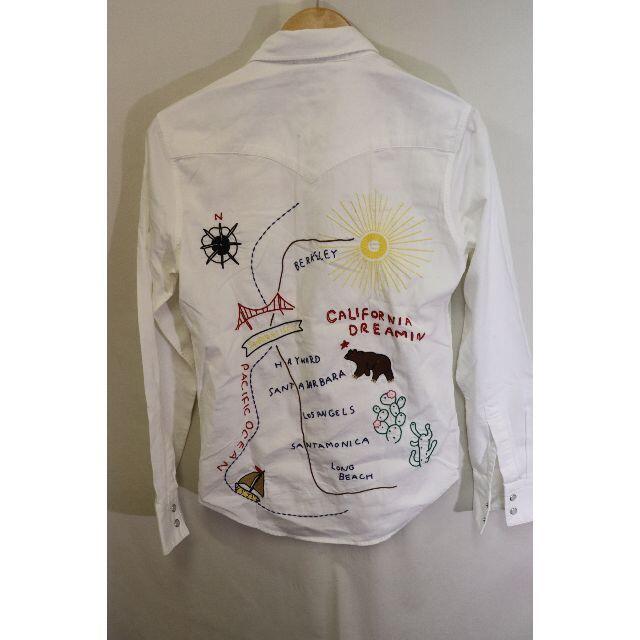 Levi's(リーバイス)の匿名即日発可!リーバイス刺繍カリフォルニアウエスタンシャツ/西海岸アメカジXS メンズのトップス(シャツ)の商品写真