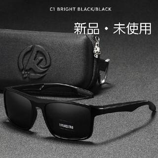 《新品》超軽量/偏光サングラス/メンズ/ブラック