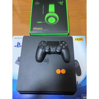 PlayStation4 - PS4本体&デュアルショック背面ボタン&RAZERクラーケン