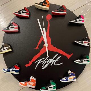 スニーカー型 air jordan  掛け時計