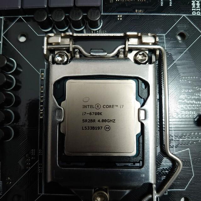 ASUS(エイスース)のIntel Core i7-6700K+ASUS Z170 PRO GAMING スマホ/家電/カメラのPC/タブレット(PCパーツ)の商品写真