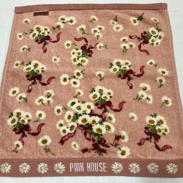 PINK HOUSE(ピンクハウス)のP INKHOUSE  ピンクハウス ウォッシュタオル ハンドタオル レディースのファッション小物(ハンカチ)の商品写真