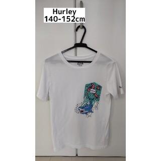 Hurley - 140cmHurley ハーレー白 半袖 Tシャツ