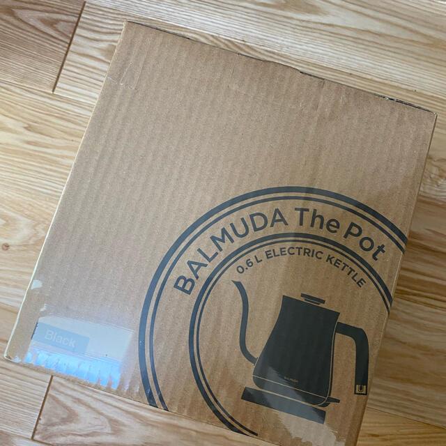 BALMUDA(バルミューダ)のバルミューダ ポット 新品未開封 スマホ/家電/カメラの生活家電(電気ケトル)の商品写真