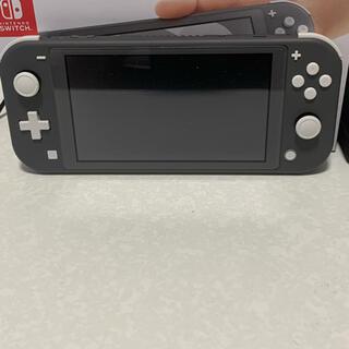 Nintendo Switch - Nintendo switch liteグレー、ポケモンシールド