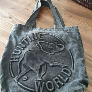 HUNTING WORLD - ハンティング ワールド バック 布
