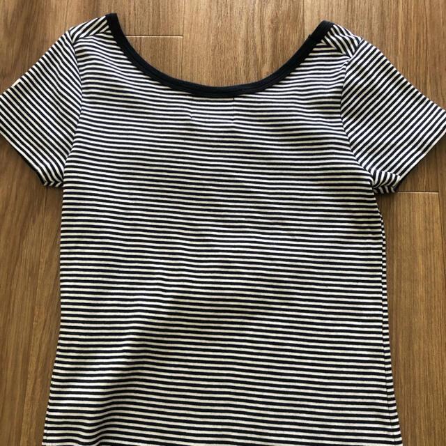 IENA(イエナ)のIENA ボーダーTシャツ ネイビー メンズのトップス(Tシャツ/カットソー(半袖/袖なし))の商品写真