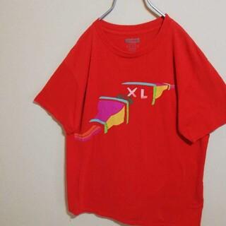 XLARGE - エクストララージ 半袖 Tシャツ Lサイズ 赤 コンセント柄 オシャレ