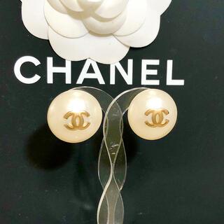 CHANEL - 正規品 シャネル イヤリング パール ココマーク 金 ゴールド 真珠 ロゴ 丸2