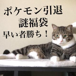 ポケモン - ポケモンカード 引退 アド確定謎福袋 1口のみ 8月3日まで!