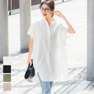 ZARA - coca オーバーサイズ半袖シャツ ホワイト