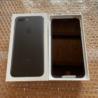 iPhone - iPhone 7 Plus Black 黒 ブラック32GB 正規SIMフリー