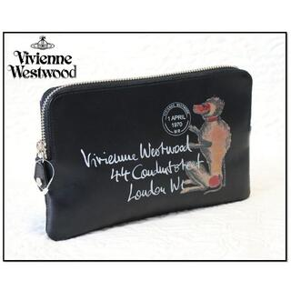 Vivienne Westwood - 新品【ヴィヴィアンウエストウッド】本革 マルチバッグ ポーチ財布 黒