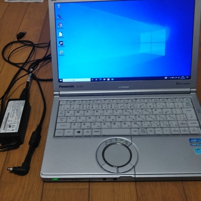 Panasonic(パナソニック)のパナソニック ノートパソコン CF-NX2 Windows10 スマホ/家電/カメラのPC/タブレット(ノートPC)の商品写真