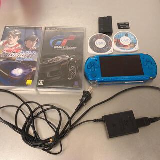 プレイステーションポータブル(PlayStation Portable)のPSP3000フルセット♪(携帯用ゲーム機本体)