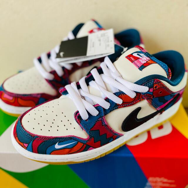 NIKE(ナイキ)のPIET PARRA x NIKE SB DUNK LOW 26.5 メンズの靴/シューズ(スニーカー)の商品写真