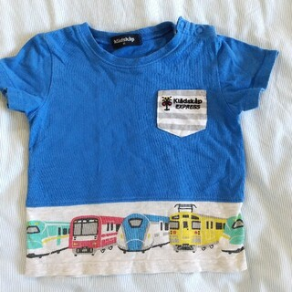 kladskap - クレードスコープ 90 電車 Tシャツ
