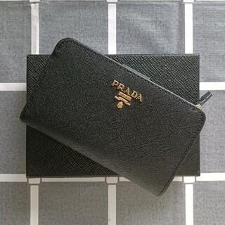 PRADA - 黒♥二つ折り財布 プラダ コインケース