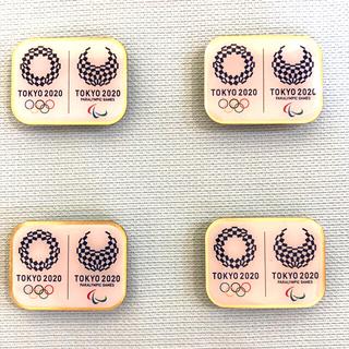 東京オリンピック ピンバッジ 4個セット