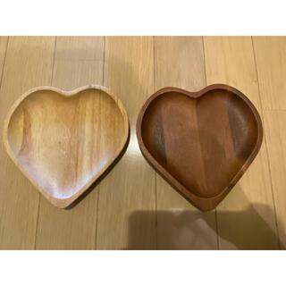 フランフラン(Francfranc)のFrancfranc 木製 皿 2枚セット(食器)