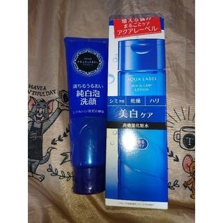 アクアレーベル(AQUALABEL)のアクアレーベルホワイトケアローションRM,純白泡洗顔セット(化粧水/ローション)