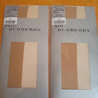 バーバリー(BURBERRY)のBURBERRY ショートストッキング(タイツ/ストッキング)