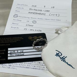 ロンハーマン(Ron Herman)のHOORSENBUHS トリン様専用(リング(指輪))