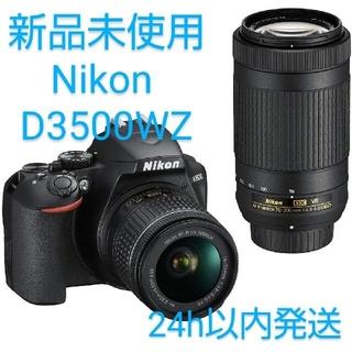 Nikonデジタル一眼レフカメラ D3500 ダブルズームキット D3500WZ