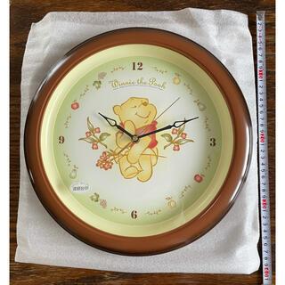 Disney - 【新品・未使用】プーさん 壁掛け時計