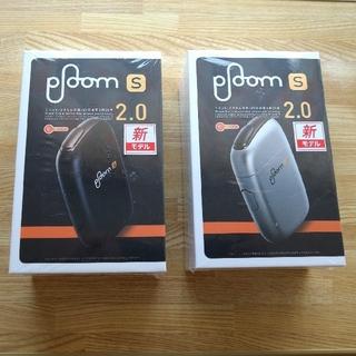 プルームテック(PloomTECH)の新品未開封プルームS2.0ブラック&シルバー(タバコグッズ)