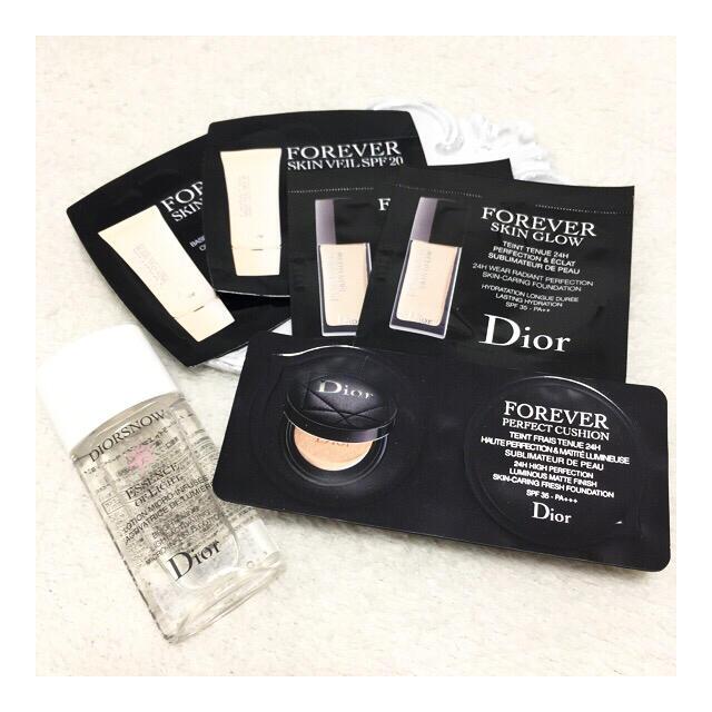 Dior ディオール 下地 ファンデーション サンプル コスメ/美容のベースメイク/化粧品(ファンデーション)の商品写真