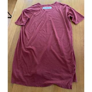 nunuforme ビックTシャツ ディープレッド 145