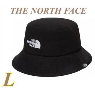 THE NORTH FACE - 【新品タグ付】SALE!ノースフェイス バケットハット ブラック コットン L