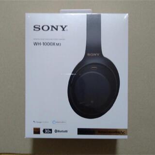 SONY - ワイヤレスノイズキャンセリングステレオヘッドセット WH-1000XM3 B