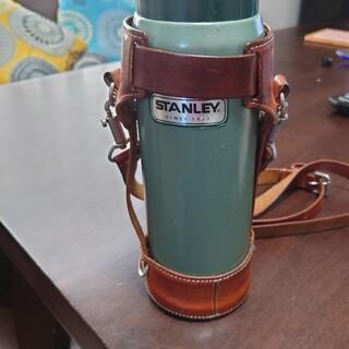 スタンレー真空ボトル用 革ストラップ(水筒)