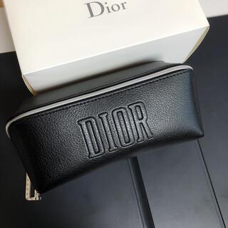 Dior - Dior ディオール  オリジナル スクエア ポーチ ブラック 箱付き