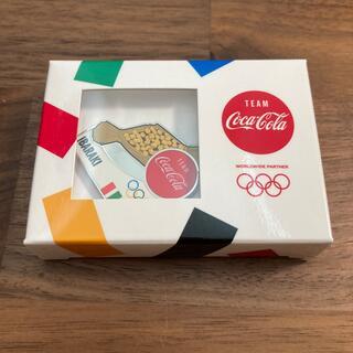 聖火リレー 茨城県 コカコーラ ピンバッジ 東京オリンピック 納豆 非売品