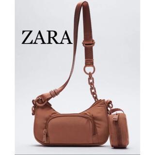 ZARA - ZARA チェーンポケット クロスショルダーバッグ