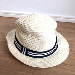 エイチアンドエム(H&M)の美品 H&M 麦わら帽子(帽子)