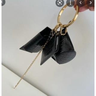 L'Appartement DEUXIEME CLASSE - OSOI BANGLERING 布トートバッグ付き ブラック